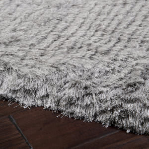 Custom Surya Whisper WHI-1003 Light Gray Area Rug