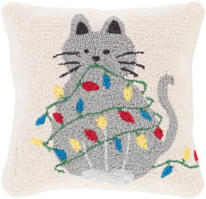 Surya Winter Pillow Wit-009  Area Rug