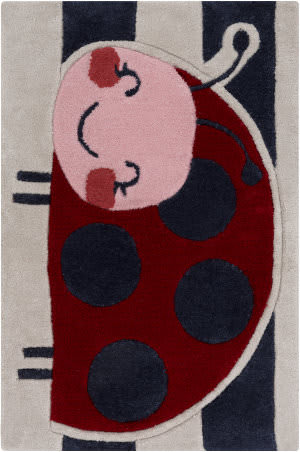 Surya Young Life YGL-7011 Red / Pink / Blue Area Rug