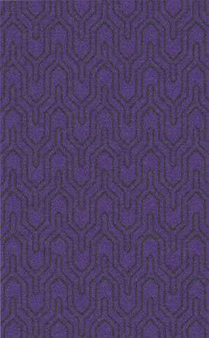Surya Zahra ZHA-4020 Black / Violet (purple) Area Rug