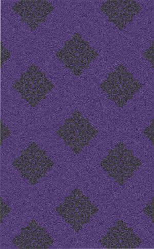 Surya Zahra ZHA-4023 Violet / Black Area Rug