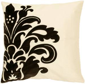 Surya Pillows P-0171 Beige/Black