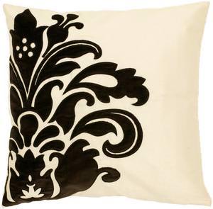 Surya Pillows P-0171 Beige/Black