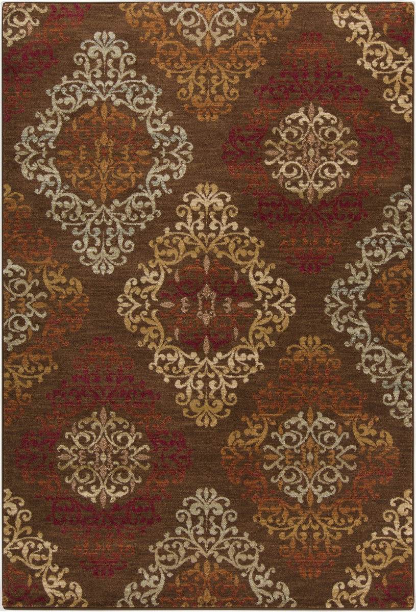 Surya Arabesque Abs 3028 Mocha Clearance Rug Studio
