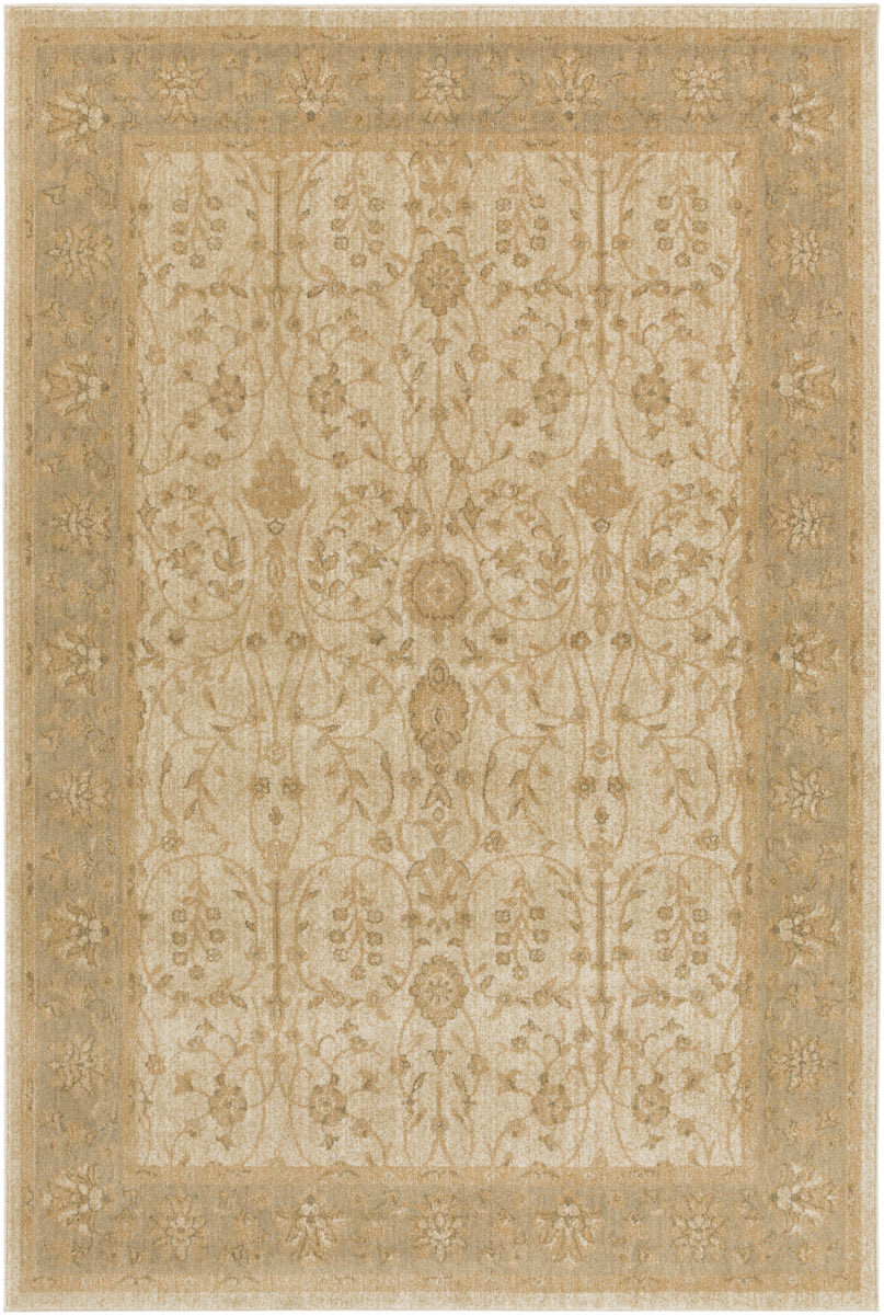 Surya Arabesque Abs 3039 Beige Area Rug Clearance 132123