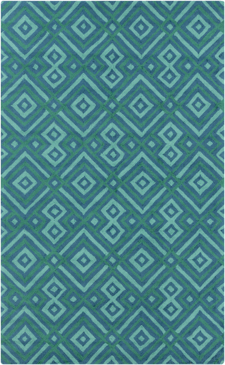 Surya Brentwood Bnt 7704 Teal Clearance Rug Studio