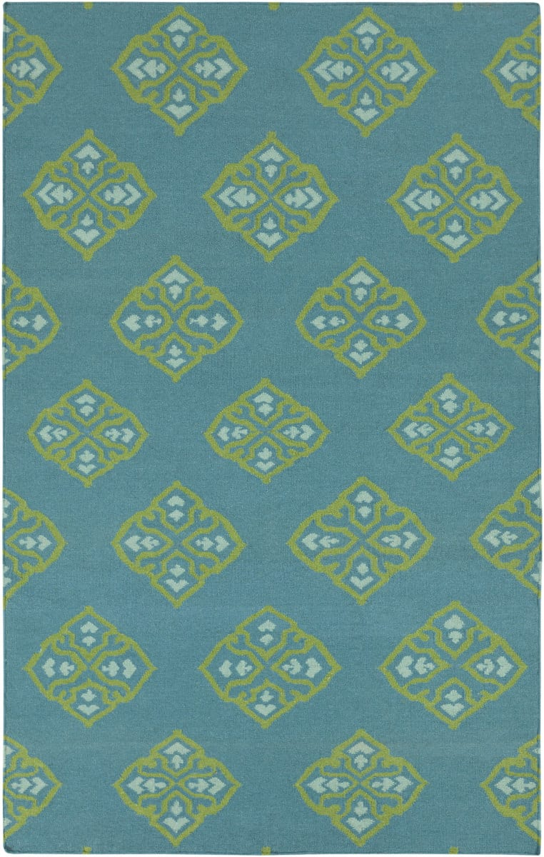 Surya Frontier Ft 371 Turquoise Area Rug Clearance 88337