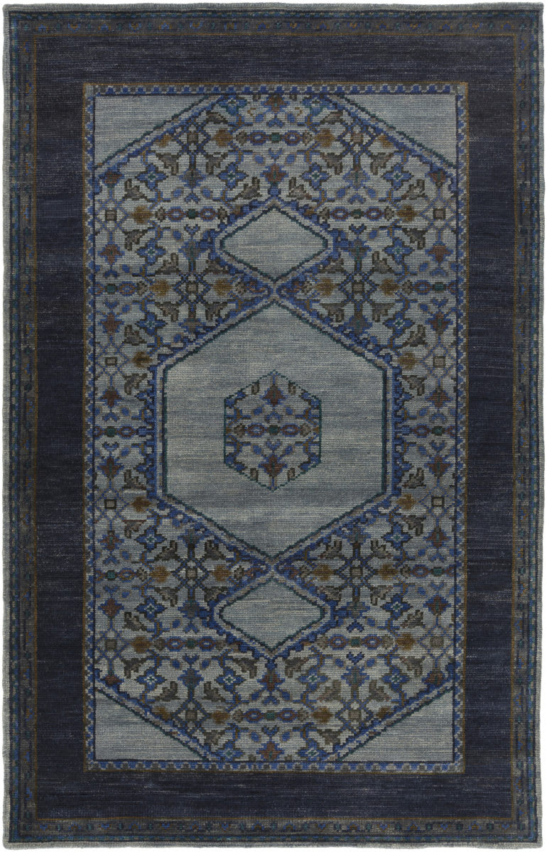 Surya Haven Hvn 1218 Navy Blue Green Rug Studio