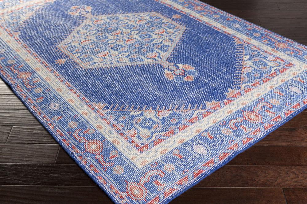 Surya Zahra Zha 4003 Cobalt Rug Studio