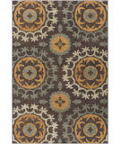 Surya Arabesque Abs-3031 Black Area Rug