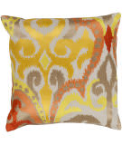 Surya Ara Pillow Ar-072 Saffron/Orange