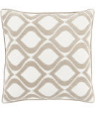 Surya Alexandria Pillow Ax-007 Taupe/Cream