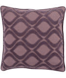 Surya Alexandria Pillow Ax-009 Mauve/Dark Purple