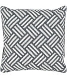 Surya Basketweave Pillow Bw-007 Black