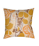 Surya Chinoiserie Floral Pillow Cf-024