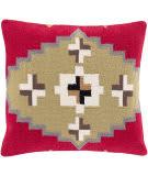 Surya Cotton Kilim Pillow Ck-002 Red