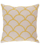 Surya Pillows Com010 Ivory/Yellow