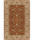 Custom Surya Crowne CRN-6002 Burgundy Area Rug