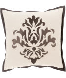 Surya Cosette Pillow Ct-003 Charcoal