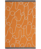 Surya Decorativa Dcr-4022 Burnt Orange Area Rug