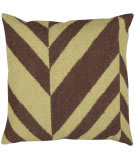 Surya Pillows FA-031 Chocolate/ Olive