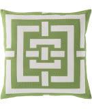 Surya Circles & Squares Pillow Fb-004 Lime