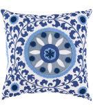 Surya Pillows FF-026 Cobalt/Slate