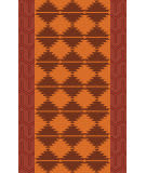 Surya Jewel Tone Ii JTII-2070 Burnt Orange Area Rug