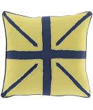 Surya Linen Flag Pillow Lf-001