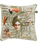 Surya Mind Games Pillow Mng-002