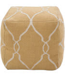 Surya Poufs Pouf-22 Golden Yellow