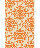 Surya Rain RAI-1195 Green / Orange Area Rug