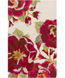 Surya Rain Rai-1230 Red Area Rug