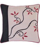 Surya Pillows SI-2007 Mauve/Burgundy