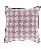 Surya Houndstooth Pillow Sy-039