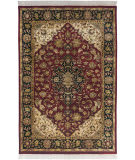 Surya Taj Mahal Tj-2000 Red / Black Area Rug