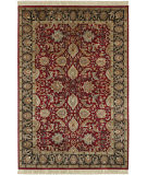 Surya Taj Mahal Tj-6575 Red / Black Area Rug