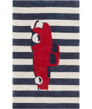 Surya Young Life YGL-7016 Red / Navy Area Rug