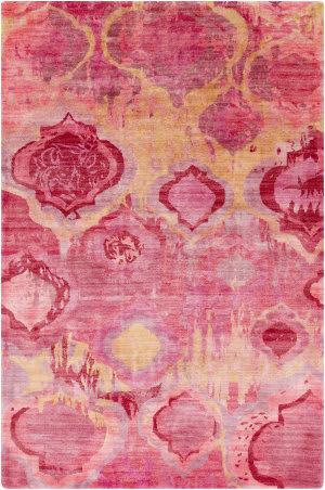 Surya Watercolor WAT-5006 Orange / Red / Pink / Violet Area Rug