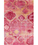 Surya Watercolor WAT-5006 Orange / Red / Pink / Violet Area Rug