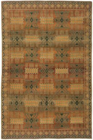 Tibet Rug Company 60 Knot Premium Tibetan Inca Gold Area Rug