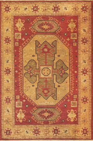 Tibet Rug Company Soumak Kazak Design 8 Area Rug