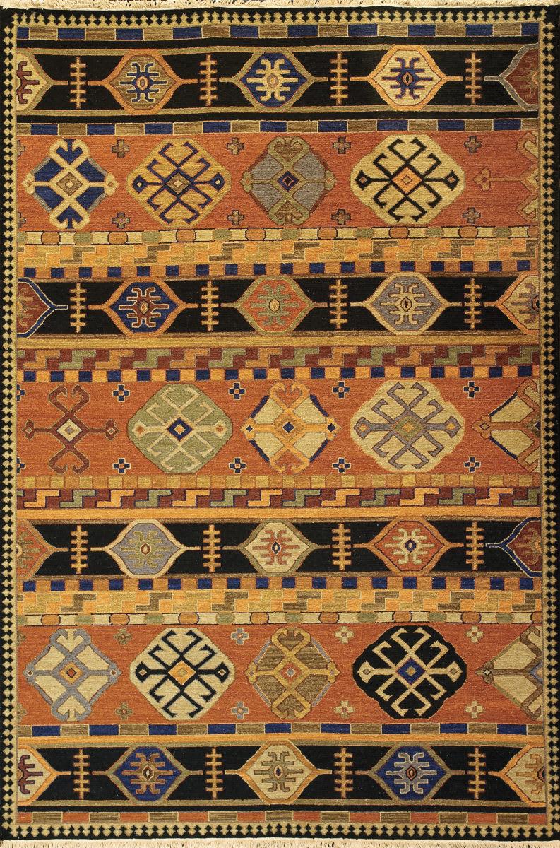 Tibet Rug Company Soumak Kazak Design 3 Rug Studio