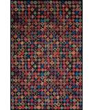 Tibet Rug Company 100 Knot Premium Tibetan Bottlecaps Black Area Rug