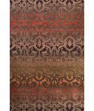 Tibet Rug Company 100 Knot Premium Tibetan Wrought Iron Walnut - Red Area Rug