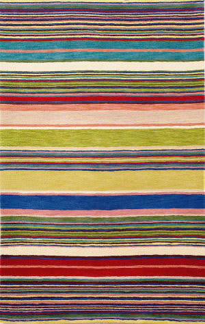Trans-Ocean Inca Stripes Red 9441/24 Area Rug
