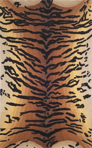Trans-Ocean Seville Tiger Brown 9644/19 Area Rug