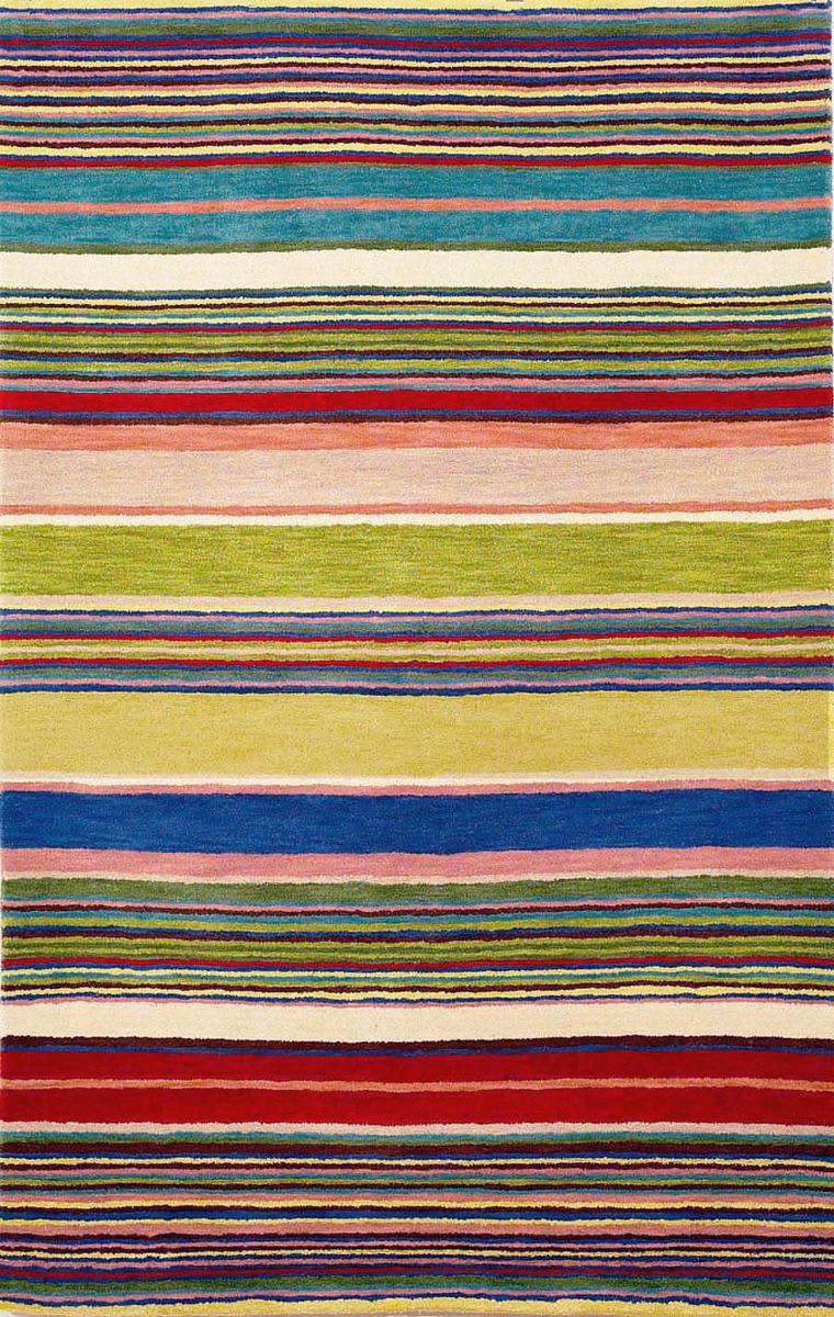 Trans Ocean Inca Stripes Red 9441 24 Rug Studio