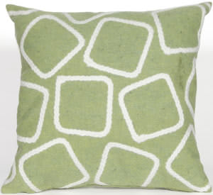 Trans-Ocean Visions I Pillow Squares 4087/16 Lime Area Rug