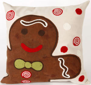 Trans-Ocean Visions Ii Pillow Ginger Boy 4204/19 Chocolate Area Rug
